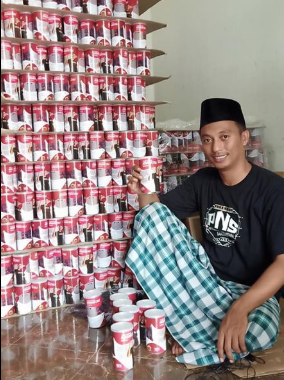 Aksesories, Pakan, Obat dan Vitamin Burung Pakan Lolohan anakan murai batu Krakatau