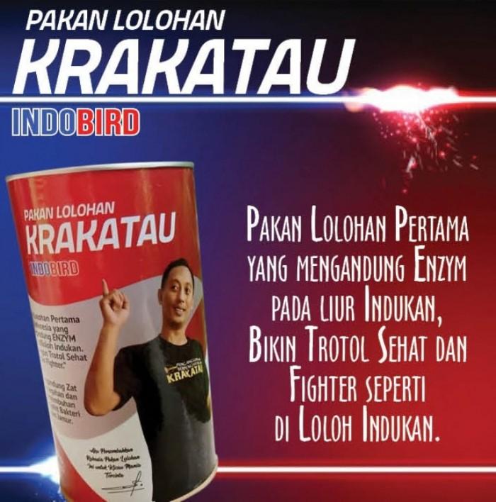 Aksesories, Pakan, Obat dan Vitamin Burung Pakan Lolohan Krakatau